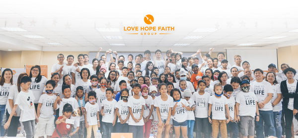 LoveHopeFaith Group Color the Lives of Cancer Patients and Other Beneficiaries.