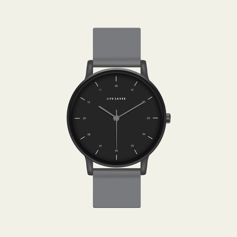LIFE SAVER WATCH 3.0 - GRAY (BIG)