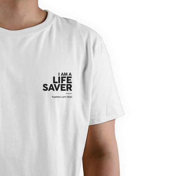 LIFE SAVER SHIRT 3.0 - WHITE
