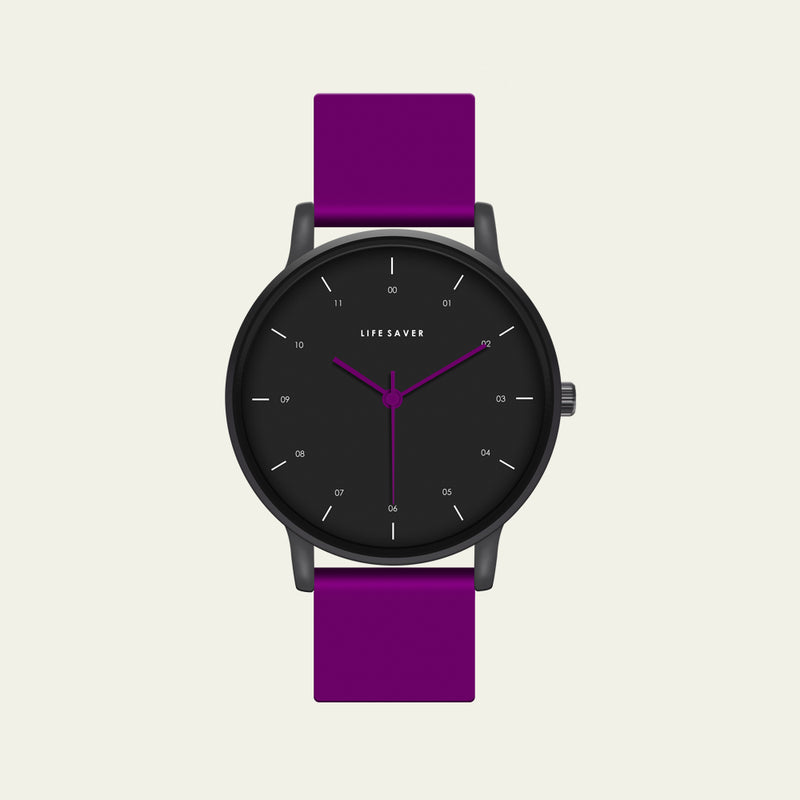 LIFE SAVER WATCH 3.0 - PURPLE (BIG)