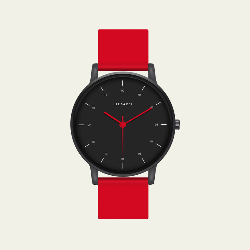 LIFE SAVER WATCH 3.0 - RED (BIG)