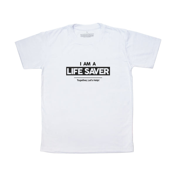 LIFE SAVER SHIRT 2.0 - WHITE