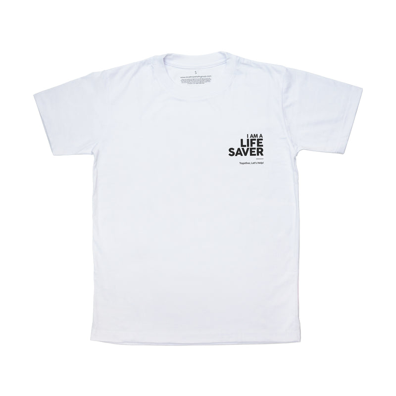LIFE SAVER SHIRT - WHITE