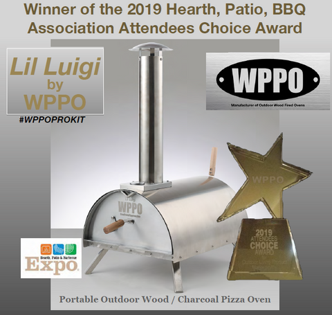 The Little Luigi from WPPO winner of the 2019 Hearth, Patio, BBQ Association Attendees Choice Award