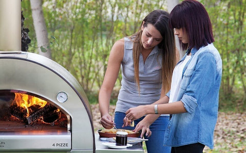Entertain friends and family with our best selling Alfa 4 Pizze Outdoor Pizza Oven