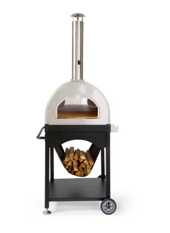 The SOKO Stainless Steel Wood Fired Pizza Oven from WPPO