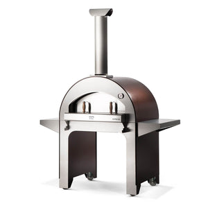 The ALFA 4 PIZZE is ideal for entertaining large parties and cook 4 pizzas at a time
