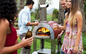Enjoy great food and fellowship with friends with your new ALFA 5 Minuti Outdoor Pizza Oven