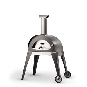 Great Outdoor Pizza Ovens gray Alfa Ciao outdoor wood-fired pizza oven