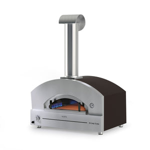 The ALFA - STONE OVEN Gas Fired Outdoor Pizza Oven from The Great Outdoor Pizza Ovens Company is designed for HIGH PERFORMANCE and BIG SIZE and makes a great outdoor oven for large gathering
