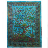 indian cotton wall hanging tree of life