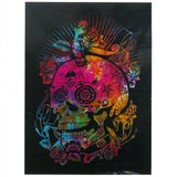 indian cotton wallhanging day of the dead