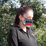 Funky Reusable Face Masks Coverings X 2 Plus 4 Free Filters