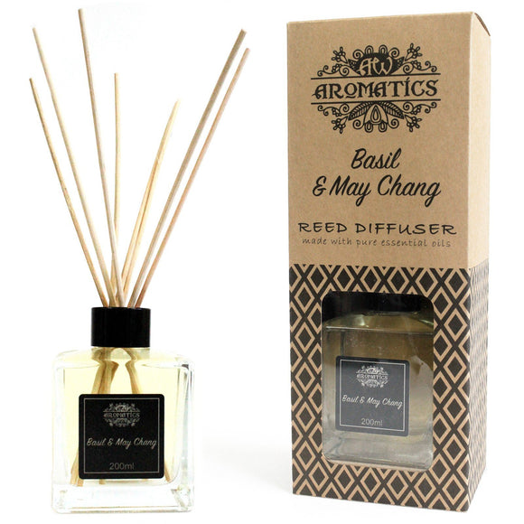 essential oil reed diffuser basil and maychang