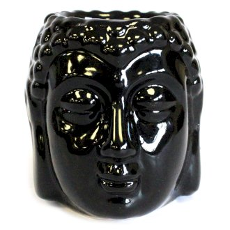 buddha oil burner black