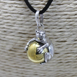 cheeseonbread cat calling bell pendant