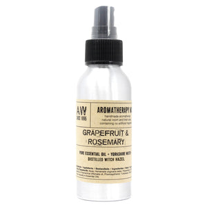 essential oil room mist grapefruit and rosemary