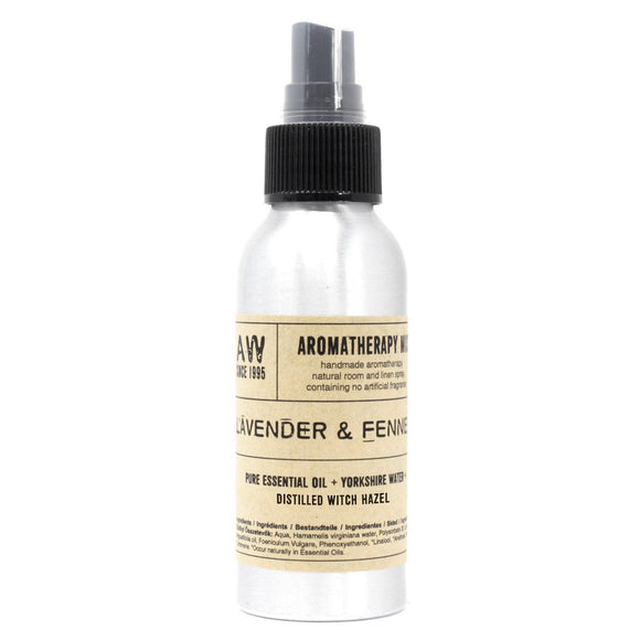 essential oil room mist lavender and fennel