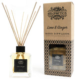 essential oil reed diffuser lime and ginger