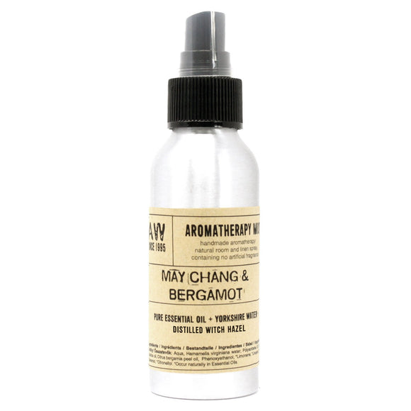 essential oil room mist spray may chang and bergamot