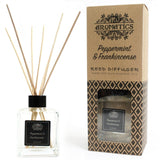 essential oil reed diffuser peppermint and frankincense