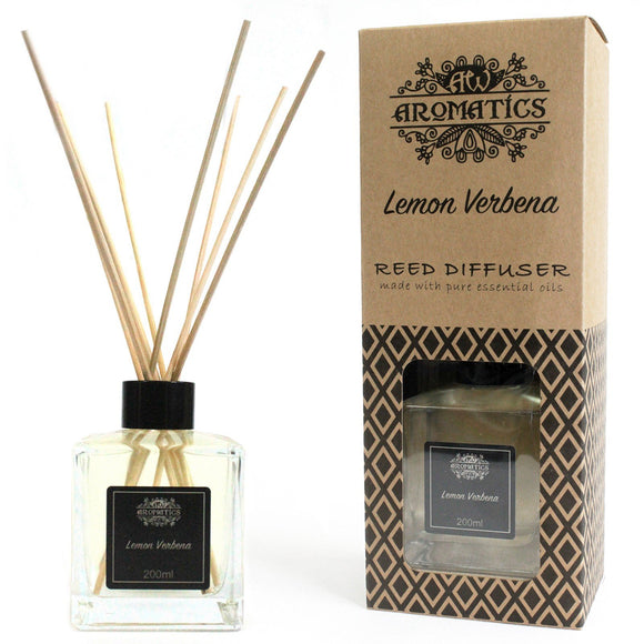essential oil reed diffuser lemon verbena