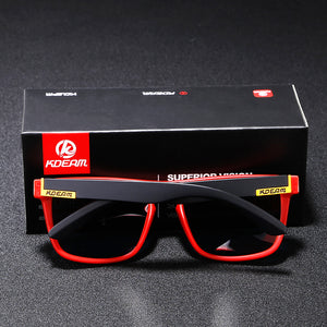 Men Polarized Sunglasses Classic Design All-Fit Mirror Sunglass With Brand Box CE
