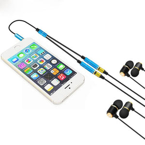 Dual Adapter Earphone - VixBee