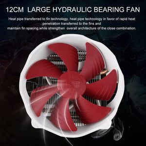 Low Noise High Airflow Aluminum PC Cooler For 775/115X - VixBee