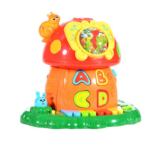 Magic Mushroom House Baby Electronic Learning Toys - VixBee