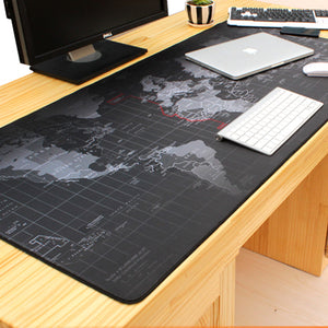 Old World Map Anti-slip Large Gaming Mouse Pad - VixBee