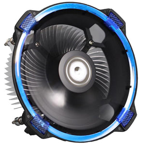 ID-COOLING DK-03 100W CPU Cooler, 120mm Big Airflow Fan and Aluminum Heatsink, Compatible with Intel LGA1150/1155/1156/775 & AMD FM2(+)/FM1/AM3(+)/AM2(+) - VixBee