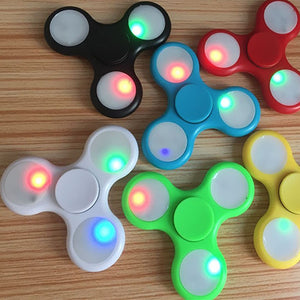 Colorful LED Fidget Spinner - VixBee