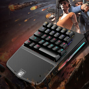 K9 Mini Mechanical Gaming Keyboard - VixBee