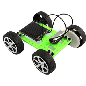 Mini Solar DIY Car Robot Kit - VixBee