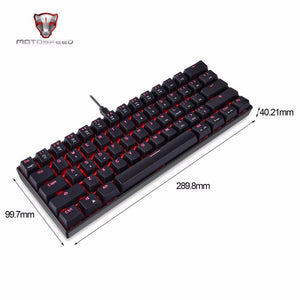 Motospeed RGB Gaming Mechanical Keyboard - VixBee