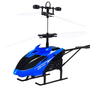 Mini RC Helicopter with USB Charging Cable - VixBee