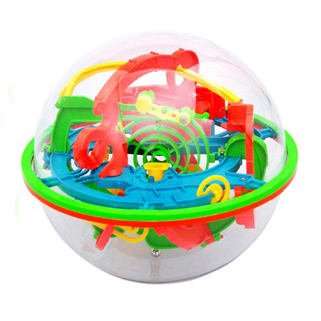 3D Brain Teaser Game Sphere Maze - VixBee
