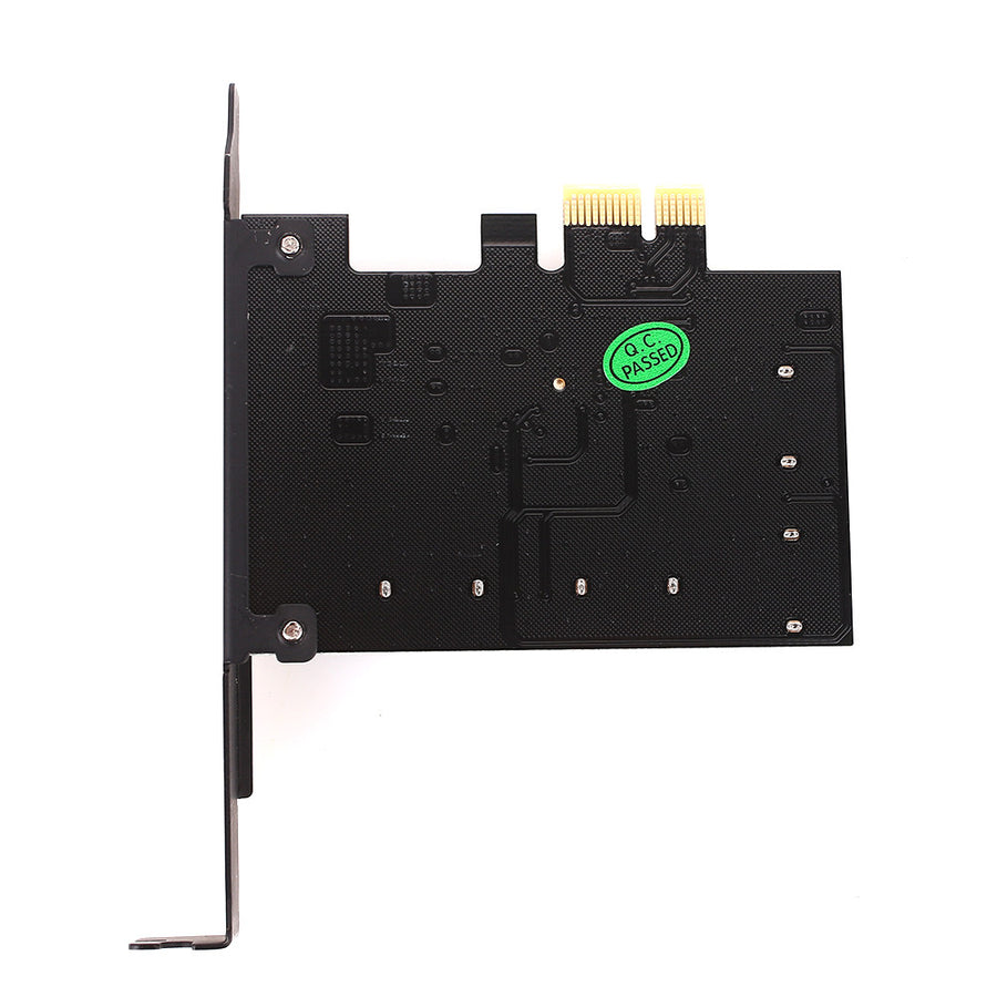 High Speed 6Gbps 4 SATA3.0 Ports PCI Express Computer Extension Card - VixBee
