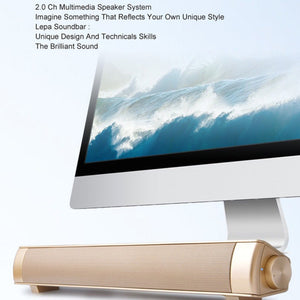 High Quality USB TV Soundbar Stereo Speaker - VixBee