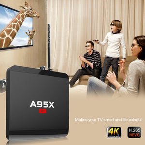 A95X R1 Smart TV BOX Android 6.0 Quad Core 4KUHD - VixBee