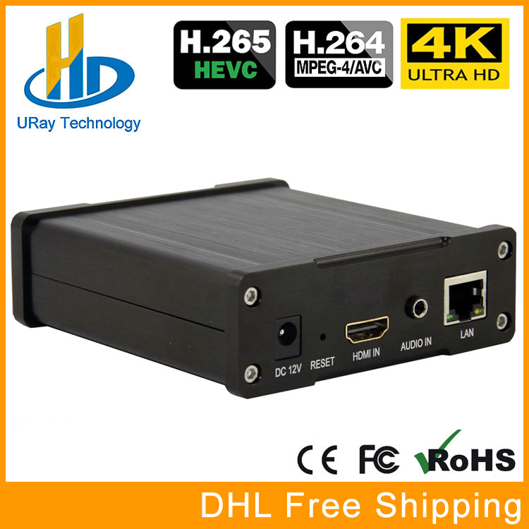 Best H.265 H.264 4K UHD HDMI Video Encoder For Live Stream Broadcast Support HTTP RTSP RTMP UDP RTP For Live Stream Broadcast - VixBee