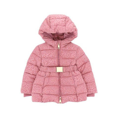 Giubbotto piumino bimba nylon animalier Monnalisa - Fashion4kids016