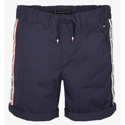 Pantaloncino bimbo Tommy Hilfiger Tape Chino Short - Fashion4kids016