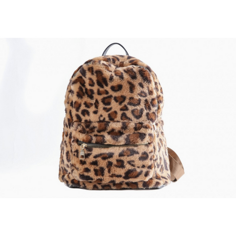 Zaino in ecopelliccia con fantasia animalier Fun&Fun - Fashion4kids016