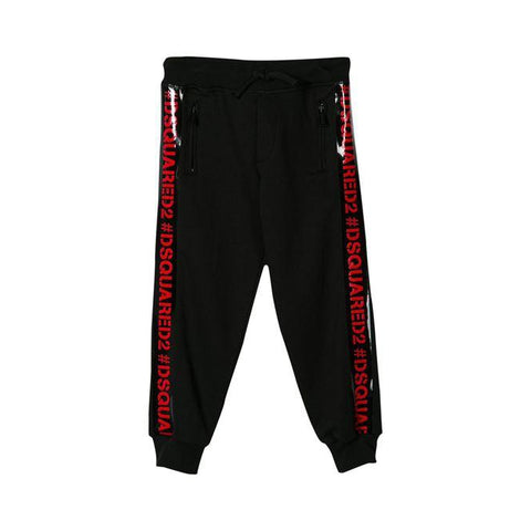 Pantaloni tuta bimbo Dsquared2 pants kids junior - Fashion4kids016