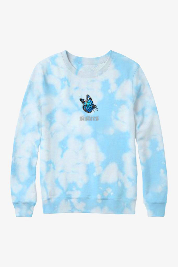 Cloud Butterfly Crewneck