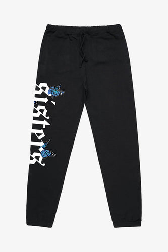 Black Butterfly Sweats