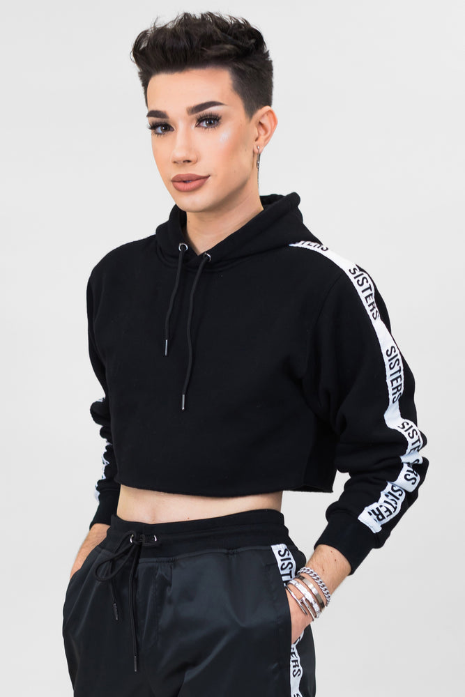 Downtown Cropped Hoodie