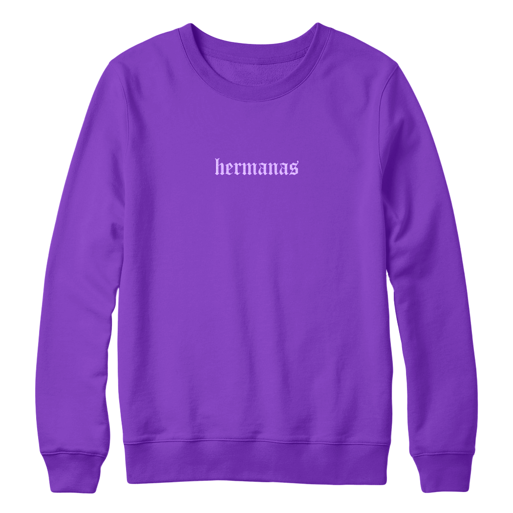 Hermanas Crewneck Purple